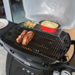 The Weber Q3200 at work